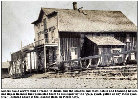 Original Pioneer Hotel for Gold Rush Miners